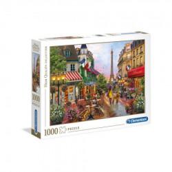 Clementoni puzzle 1000 hqc flowers in paris - 2019 ( CL39482 )
