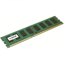 Crucial RAM 4GB DDR3L 1600 MTs (PC3L-12800) CL11 Unbuffered UDIMM 240pin 1.35V1.5V ( CT51264BD160B )