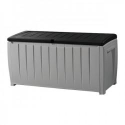 Curver baštenska kutija za odlaganje novel 340L, siva/crna ( CU 230412 )