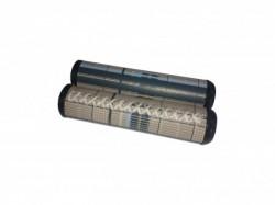 DDK ručke kormana glam gray 125mm dg03 ( 163000-G )