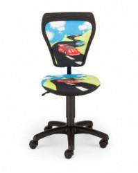 Dečija daktilo stolica Ministyle TS22 GTP28-BL Turbo SH