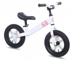 "Dečiji bicikl BALANCE BIKE 12"" bela/roza ( 540204 )"