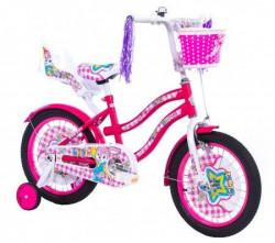 """Dečiji Bicikl Lilly 16"""" roza/bela ( 650094 )"""