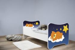Dečiji krevet 140x70 cm happy kitty SLEEPING TEDY ( 7439 )