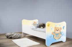 Dečiji krevet 140x70 cm happy kitty SMALL TEDDY ( 7540 )
