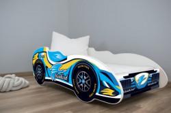 Dečiji krevet 140x70cm(formula1) BLUE BIRD ( 7553 )