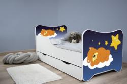 Dečiji krevet 160x80 cm happy kitty+fioka SLEEPING TEDDY ( 7451 )