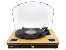 Denver VPL-210 wood gramofon