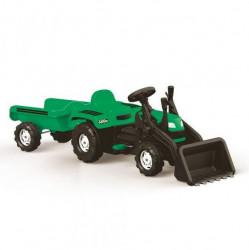 Dolu Ranchero Traktor sa prikolicom i kašikom na pedale - zeleni ( 080488 )