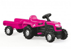 Dolu Ranchero Traktor sa prikolicom na pedale - Unicorn ( 025081 )