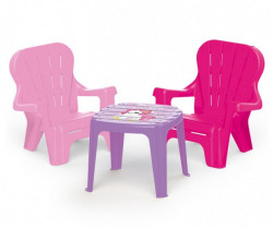 Dolu Set sto i 2 stolice za decu - Unicorn ( 025036 )