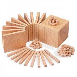 EDX Education Drvena kocka desetica 10010 ( 9060 )