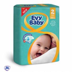 Evy baby pelene 2 mini 3-6kg 54kom ( A004736 )