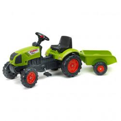 Falk Toys Traktor Claas na pedale sa prikolicom 2040A