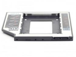 "Gembird fioka za montazu 2.5"" SSD/SATA HDD(do 9.5mm) u 5.25"" leziste u laptop umesto optike MF-95-01"