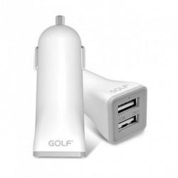 Golf Auto punjač GF-C2 2USB 2.1A/1A ( 00G11 )