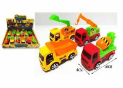 HK Mini igračka građevinski auto,displej 12 kom ( A044758 )