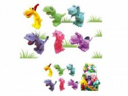 Hk Mini igračka gumeni dinosaursi u displeju, 6 komada ( A015020 )