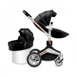 Hot Mom kolica black 2u1 (sportsko sediste+korpa) ( F023BLACK )