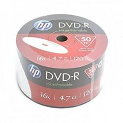 HP DVD-R 4.7GB 16X 50PK BULK PRINTABILNI 69302 ( 556PHP/Z )
