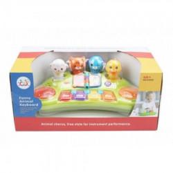 Huile toys igračka klavijatura sa životinjama ( A017199 )