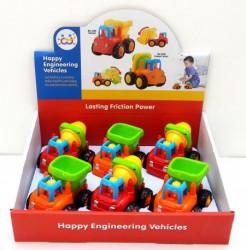 HuiLeToys Igračka Happy truck (mixer i kiper) ( HT326CD )