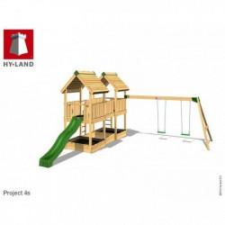 Hy-Land Javno igralište - Projekat 4 sa ljuljaškama