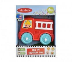 Infunbabe Igracka za bebe vatrogasno vozilo 6m+ ( LS011 )