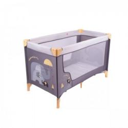 Jungle prenosni krevetac MOON, siva ( 40010315 )