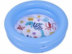Kiddy 2k bazen na naduvavanje za decu 76x20cm - Plavi ( 26-304000 )