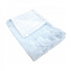 Kikka Boo Luxury ćebence Blue clouds ( 31103020047 )
