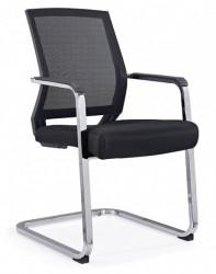 Konferencijska stolica SB-D639 - crna EKO koža