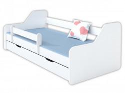 Krevet sa fiokom I dušekom 180x80 DIONE - BELA ( 7789 )
