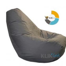 Lazy BAG JUMBO XXL Tamno sivi - Šoteks ( 270x130 )