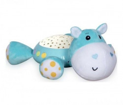Loreli Bertoni muzička kutija za bebe sa nocnćm svetlom - hippo ( 10280140001 )