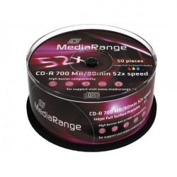 MediaRange MR208 CD-R Printable 700MB ( 78MP5/Z )