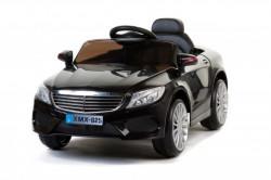 Mercedes XMX 825 Auto na akumulator sa kožnim sedištem i mekim gumama - Crni