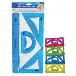 Milla Flexy geometrijski set lenjira 4/1 ( 10/0572 )