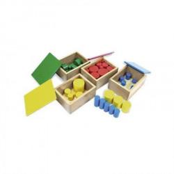 Montesori Kutija sa cilindrim ( HTS0045 )