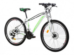 "MTB Bicikla X-Caliber 26""/21 bela/neon zelena ( 650070 )"