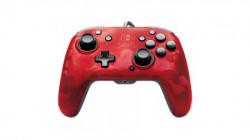 Nintendo Switch Faceoff Deluxe Controller + Audio Camo Red ( 035810 )
