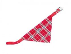 Nobby 78551-01 Ogrlica za pse sa maramom crvena 42cm, 20mm ( NB78551-01 )