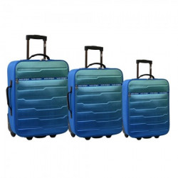 Oslo, kofer, set, 3 komada, PE, plava ( 100094 )
