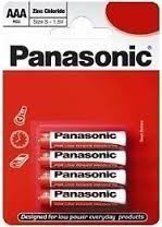 Panasonic R03RZ/4BP 4\327 AAA Zinc Carbon baterije