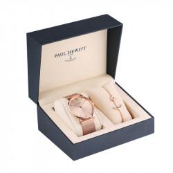 Paul Hewitt Set Perfect Match Roze Zlatni Sailor Line Rose Sunray Ručni Sat i Narukvica Roze Zlatna Anchor Spirit