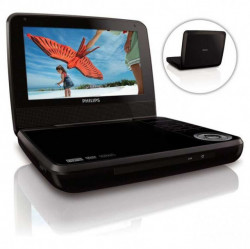 "Philips PD7001B/12 Portable DVD 7"" Player"