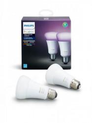 Philips Set 2/1 LED HUE RGB 2x9,5W E27 PH024