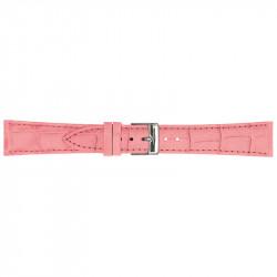 Pink Rozi Poletto Matt Guinea Kožni Kaiš Za Sat