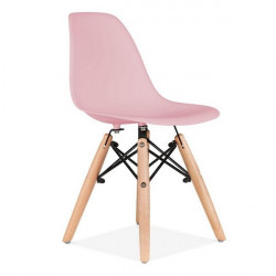 Plastična stolica CHARLIE DEČIJA - Roze