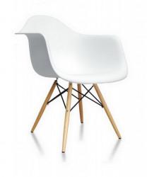 Plastična trpezarijska stolica SEM - Bela